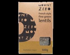 Mount Zero French Style Green Lentils 500g