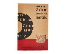 Mount Zero Persian Red Lentils 500g