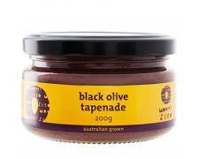 Mount Zero Black Olive Tapenade 200g