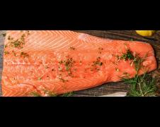 Scottish Smoked Salmon 1kg (Code:1515)