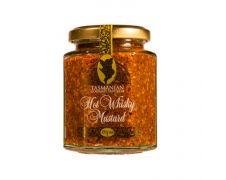 Tasmanian Gourmet Sauce Hot Whisky Mustard 190g