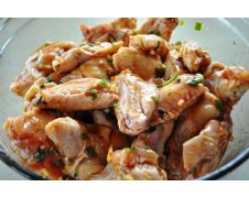 Marinated Organic Chicken Wings (pack of 10)