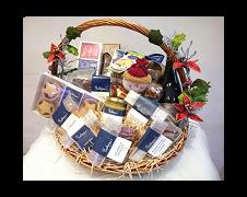 Hamper  Basket & Decorations